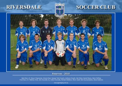 Riversdale 2009-2010